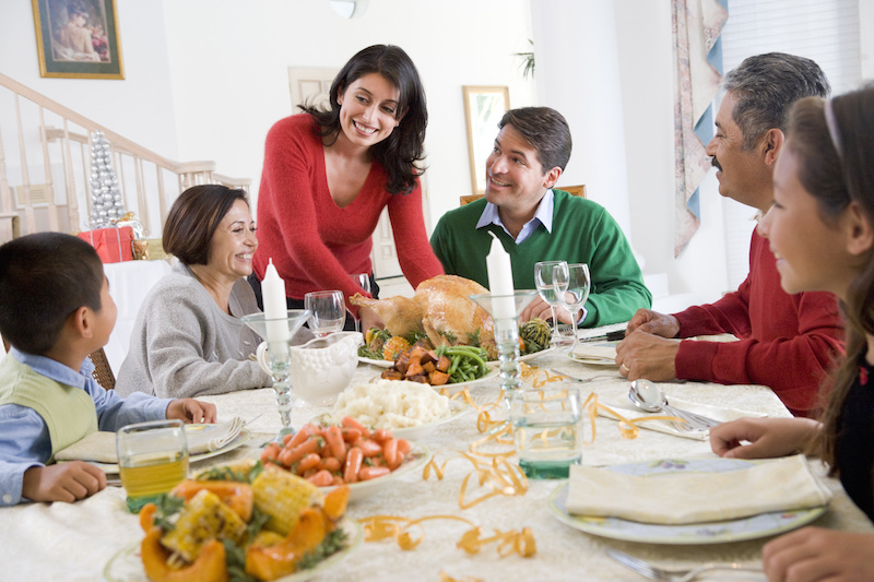 Dealing With Family Holiday Stress